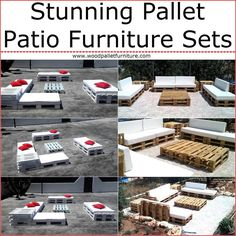 We believe that when a person talks about anything, just like wooden palletpatio furniture set, then there should be a presentation of it and we love to show how the furniture sets made up ofwood palletslooks like when placed in the patio for which we have arranged the images.Here you can see two stunning pallet patio furniture sets; one of them is decorated while the other is perfect for those who like a sober look of their patio. If you have wooden pallets at home, they why not to…