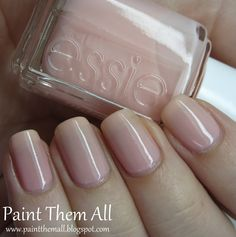 Paint Them All: Essie Professional - Petal Pink Essie, My Nails, Swatch, Nail Polish, Painting, Beauty, Nail Polishes, Painting Art, Polish
