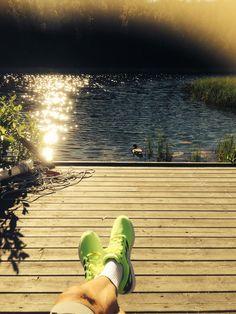 Langvannet i Tromsø! #tromsø #norway #compressport #adidas #flux