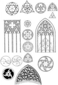 Готическая геометрия - масверк