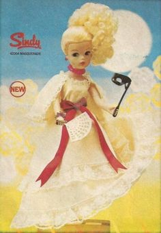 Masquerade Sindy. Got the dress, looking for the rest.