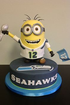 Seahawks Minion 12th Man