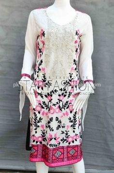 Source Pakistani Indian Elegant Stylish Branded Semi Formal Chiffon Net Cotton Net Machine and Hand Embroidered Wholesale Dresses on m.alibaba.com