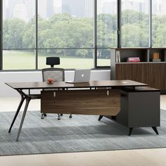High class eco friendly law office furniture simple mdf office table design