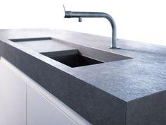 Betonarbeitsplatte Penallo von www.arrangio.de  #betonarbeitsplatte #betonküchenplatte #betonarbeitsfläche