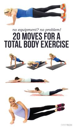 TOTAL BODY WORKOUT- no equipment needed!