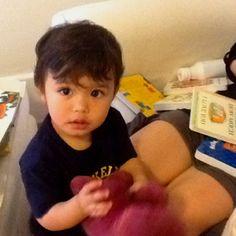 Half Pakistani, half Korean baby looks.... Latino? Peruvian even.