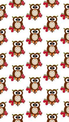 Cute Owls Wallpaper, Cute Wallpaper Backgrounds, Animal Wallpaper, Colorful Wallpaper, Iphone Wallpaper, Winnie Poo, Cute Owl Drawing, Owl Background, Owl Artwork