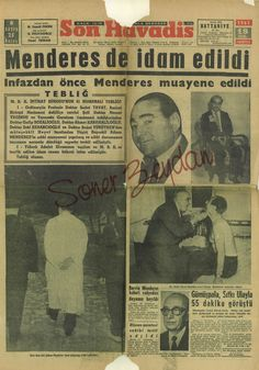 Newspaper Headlines, Old Newspaper, Turkey History, Welcome To School, Newspaper Archives, Historical Pictures, Ancient History, Somali, Istanbul