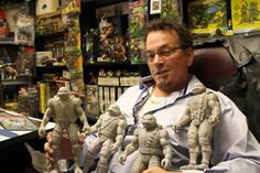 Kevin Eastman and ThreeZero teamed up for some gnarly comic-book inspired figures.  #TMNT #NinjaTurtles #ThreeZero #Toys #Retro