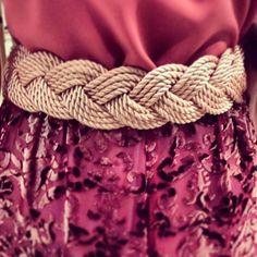 Cinturón de cordón de seda(Pineado x @ljimenez1981)