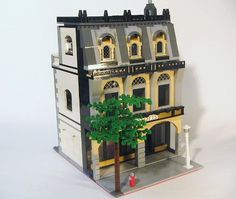 Very cool lego building... via flickr