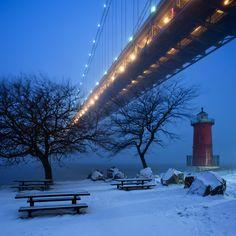 El último faro de Nueva York