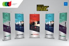 Multipurpose Roll-Up Banner 1 by Cooledition on Creative Market