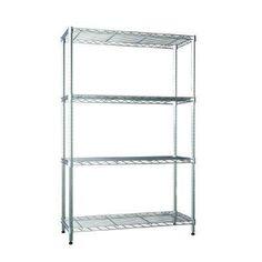 Perfect Home 4-Shelf Shelving Unit, Home Depot, $60