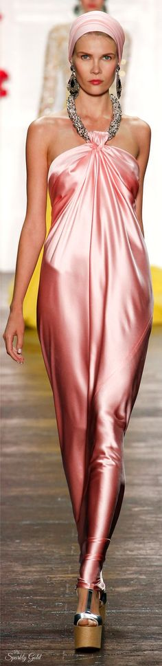 Naeem Khan Spring 2016 RTW Indian Fashion