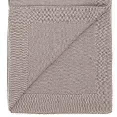 Classic Merino blanket dark grey