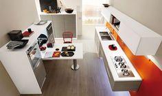 #cucine #cucine #kitchen #kitchens #modern #moderna #gicinque #onda