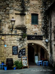 The magnificent village of Peratallada  is a fine example of preserved medieval architecture in Catalonia.