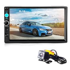 73.90$  Watch here - http://alihg3.worldwells.pw/go.php?t=32749372772 - G1 Tiptop Bluetooth Car Stereo Audio In-Dash Aux Input Receiver SD/USB MP5 Player 8702+Camera Car Styling Electronic Accessories 73.90$