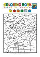 Add And Color - Math Worksheets Grade Math Coloring Worksheets, Free Printable Math Worksheets, Number Worksheets, Free Printables, 1st Grade Math, Grade 1, Basic Math, Math Facts, Addition And Subtraction