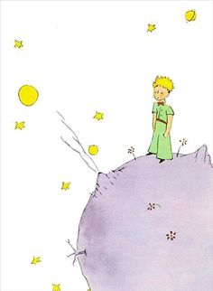 Le Petite Prince: The Little Prince.  I got this book as a present from my Dr. in Spain.