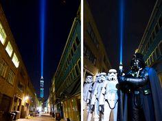 Streetplanneur >> Le street marketing plébiscité pour le lancement de Star Wars en blu-ray