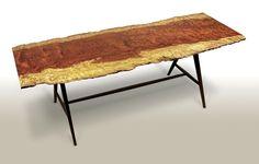 Custom Made Bubinga Writing Table/Desk