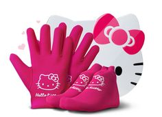 Hello Kitty SPA Gloves and Socks Whitening Hand and Feet Exfoliating Tool Skin Beauty Skin Care Tool