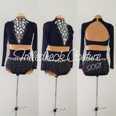 Dance Moms Costumes, Jazz Costumes, Dance Outfits, Dance Comp, Costume Collection, Dance Wear, Custom Made, Crop Tops, Photo And Video