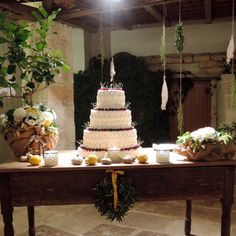 #weddingcake #rustic #wedding #salento #apulia www.elenapistone.it