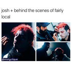 his eyelashes tho