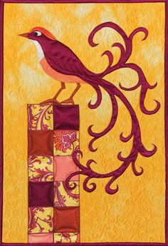 Linda Steele Quilt Blog: Waverly Art Quilters 2012, Silk Challenge quilt