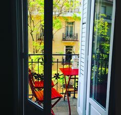 anne marie's balcony in madrid #balconygoals