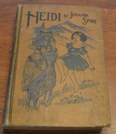 Heidi Turn of the Century Book Vintage Books by NewFoundVintiques