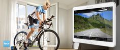 tacx.com - Tablet (iOS/Android) Tacx Cycling app for tablet (iOS/Android) The Tacx Cycling app makes it possible to train with a tablet computer and is ANT+ and Bluetooth® compatible. Smart trainer, Genius, Bushido and Vortex riders with a tablet can now train by using this free app. The Tacx Cycling app is a simplified version of the Catalyst training software, the Analyser and Real Life Video to ride existing courses.