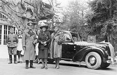 Erwin Rommel and his wife.