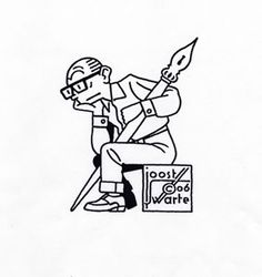 Another Joost Swarte. Love the style!