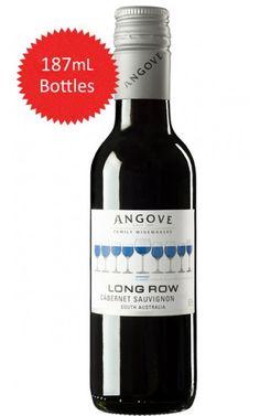 Angove Long Row Cabernet Sauvignon 2017 South Australia 187mL - 24 Bottles Wine Australia, South Australia, Vegetable Lasagne, New Zealand Wine, Wine Vineyards, Red Wines, Cabernet Sauvignon, The Row, Alcoholic Drinks