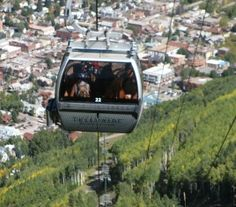 Gondola ride up a mountain.. with a surprise pic nick once you get to the top..watch the sunset