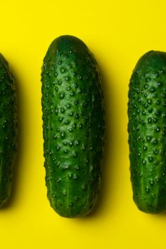 cucumbers, food, gherkins