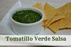 Easy Tomatillo Salsa Recipe