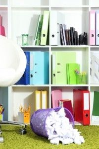Organize your home office - 7 Easy Tips Blog post!