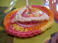 Crocheted Glass Flip Flops