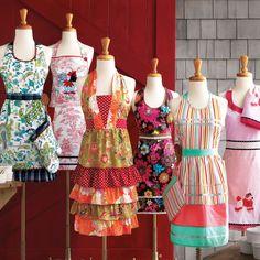 Super cute vintage style aprons