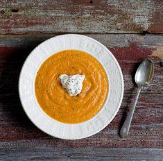 ++ Roasted Vegetable Soup #glutenfree