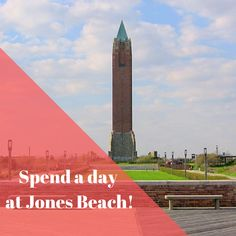 The moment you see that tower, you know you're in for a good time! Go see Jones Beach while you're on Long Island!  RamadaRVC.com . . . . #Ramada #RockvilleCentre #LongIsland #NewYork #Hotel #Inn #Affordable #Stay #Near #JFK #JAG #AAA #AARP #discounts #Wedding #trends #rooms #block #planning #girlstrip #weekend #getaway #adventure #breakfast Long Island Attractions, Rockville Centre, Hotel Inn, Jones Beach, Jfk, Wedding Trends, Tower, Rooms, In This Moment