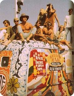 Woodstock: What people said the famous music festival was REALLY like - Click Americana hippies 70 s vintage retro hippy psychedelic trippy hippybeachgirl