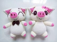 VK is the largest European social network with more than 100 million active users. Crochet Pig, Crochet Patterns Amigurumi, Love Crochet, Amigurumi Doll, Crochet Animals, Beautiful Crochet, Crochet Dolls, Holiday Crochet Patterns, Kids Blankets