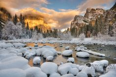 Clearing Winter Storm from Valley View, Yosemite, CA. December 8, 2009 by Robert Pearce on 500px